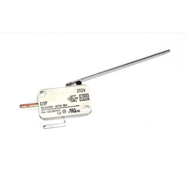 Interrupteur de sécurité porte pour poêle à granulés CMG
