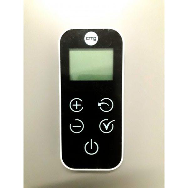 Radiocommande touch et socle pour poêle à granulés CMG