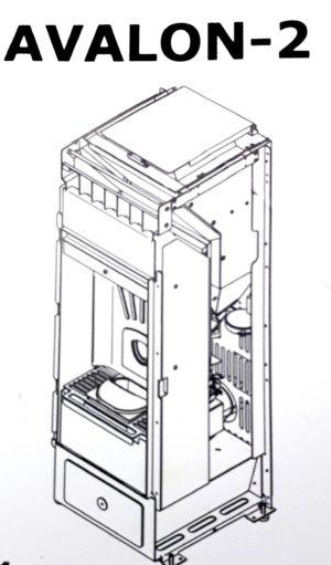 corps de chauffe étanche AVALON-2 6kw/9kw